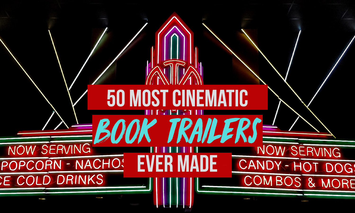 cinematic book trailers