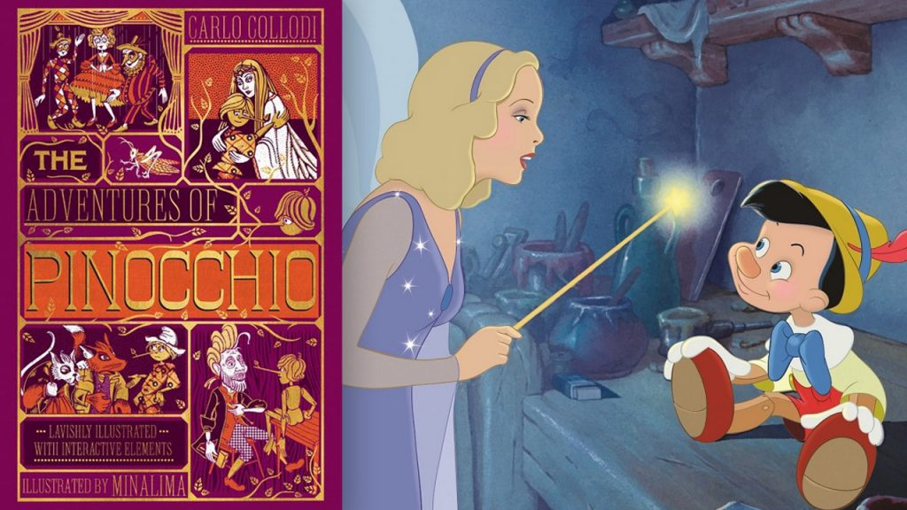 Disney movies based on books