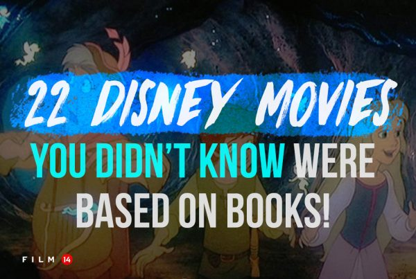 Disney movies based on books