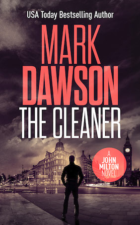 Author Mark Dawson The Cleaner