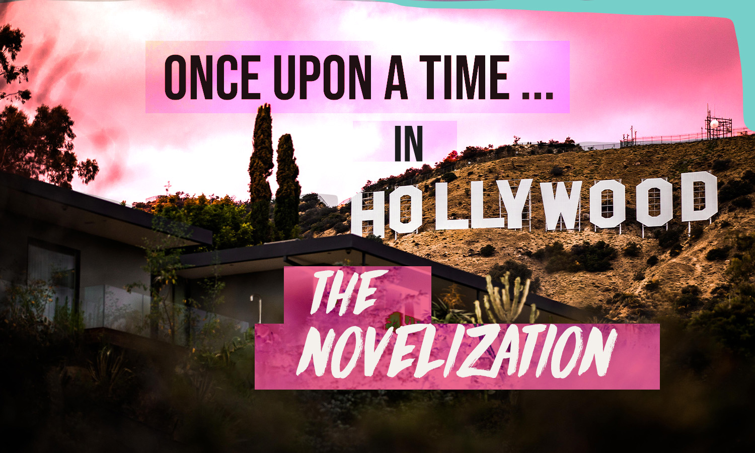 Once Upon a time in hollywood novelization